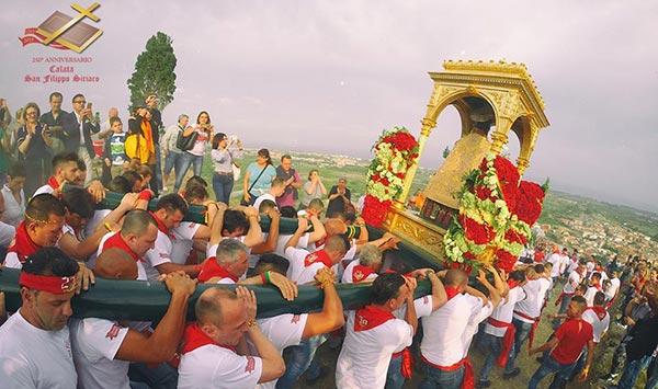 Festa di San Filippo Siriaco a Calatabiano a Calatabiano