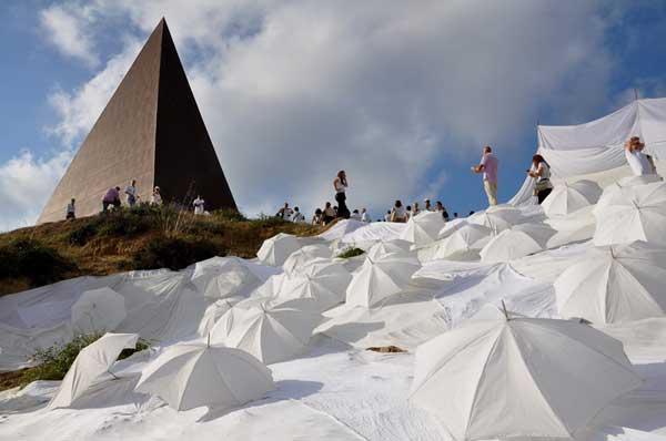 Rito della Luce - Piramide - Fiumara d'Arte a Motta D'Affermo